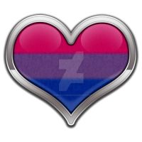 Bisexual Pride Heart by lovemystarfire