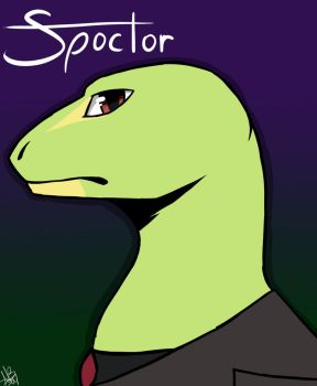 Spoctor Spontaneos Fanart by Friffin