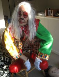 Coulro the clown halloween '11 by airbournevirus