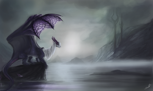 Lake Of Silence by cynder-lany