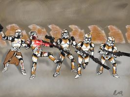 Corporal Venn's Last Stand by niner9