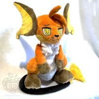 Wyatt the Raichu Plush by AppleDew
