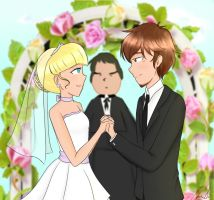 Perfect Wedding / Dipper and Pacifica by TurquoiseGirl35