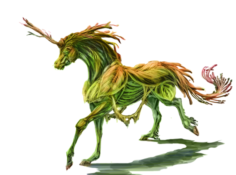 sylvaricorn by Roiuky