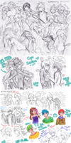 .D-Project (1) - Scketch Invasion! by xiomicchi