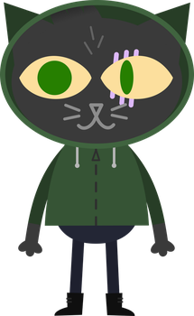 Goopy OC in NITW style [with hood] by TimsManter