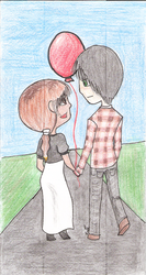 Red Balloon by Seliex