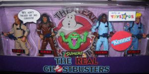 Real Ghostbusters Kenner set by Derrico13