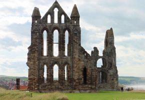 Whitby Abbey - 2 by ahappierlife