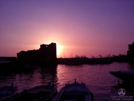 Jbeil Sunset by Nxriot