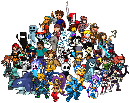 Indie Fighters (Complete) by KentoBalisto