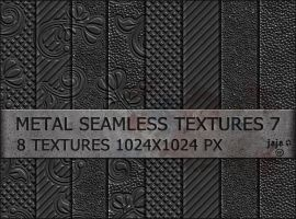 Metal seamless textures 7 by jojo-ojoj