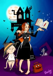 Little witch by Shalou973