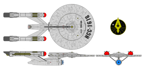 USS Excelsior NCC 1618 by nichodo
