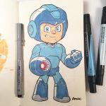 Marker Mega Man by D-MAC