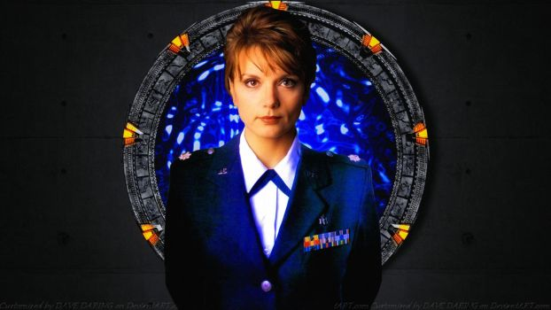 Teryl Rothery Dr. Janet Fraiser by Dave-Daring