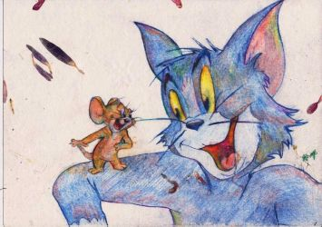 Tom and Jerry by Anjali25