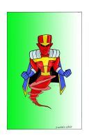 red tornado by CharismaKillsStudios