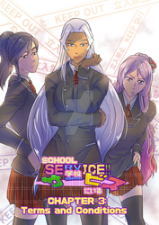 School Service!! Chapter 3 Cover Art! by KP-Lionheart