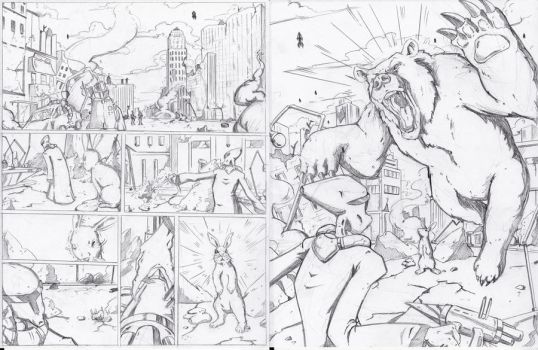 Pencil Sample Pages by LucasDuimstra