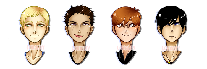 male adopt batch [ CLOSED ] by Lonalay
