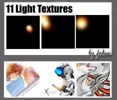 11 Light Textures by thexunknown