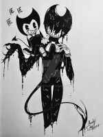 Bendy and Little Darling by ShadyDox