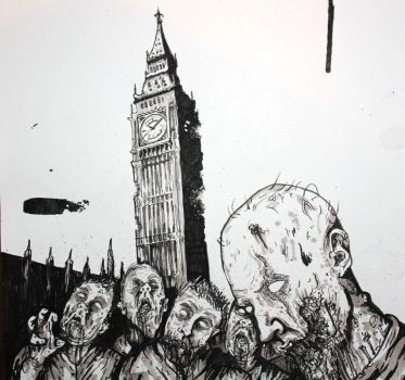 Zombies in London by ReVerbaration