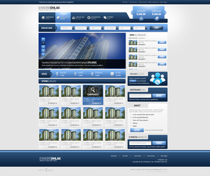 Real Estate Web Page by mansonloverz