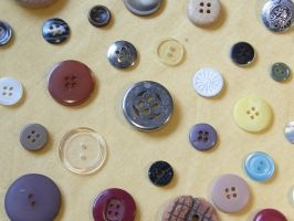 Buttons 1 Pattern by Gwathiell