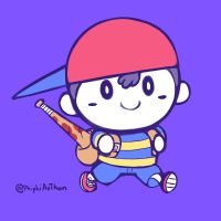 Smash4 Character Countdown #37: Ness by PhiphiAuThon