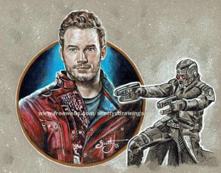 GOTG - THE LEGENDARY STAR-LORD (2015) by scotty309