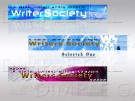 Writers_Society_Banners by dimplegal