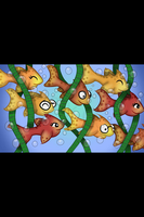 School of fish  by amy3dtd