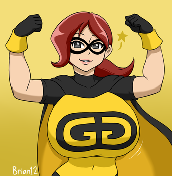Commission: Golden Girl for Matthew250 by Brian12