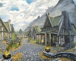 Whiterun, Province of Skyrim by SoulRebel9