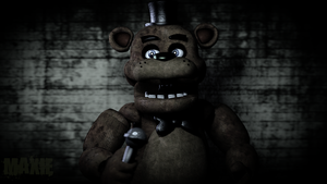 Random Freddy Fazbear Render by MaxieOfficial