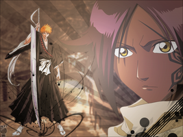 Yoruichi's Training by lil-g-d