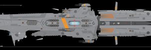 Lodestar-class Destroyer, The Sento-in Refit by Afterskies
