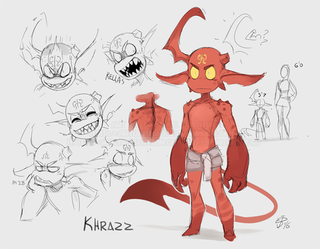 20-06-2016 - Khrazz Ref Sheet by NightHead