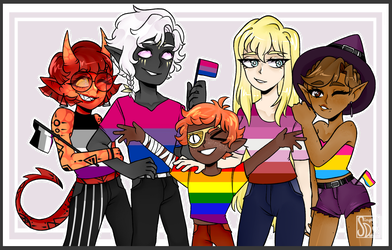[DnD]: Pride Squad by SimplyDefault
