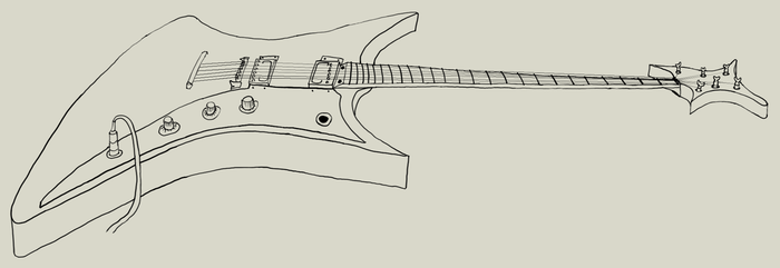Guitar by tsfhaines