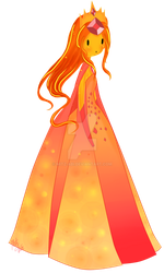 Flame Princess... Flame Queen by Mitz-Abi