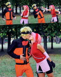 Sakura birthday NaruSaku cosplay by NSBrem