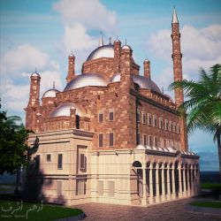 Mohamed Ali Mosque by DooomA