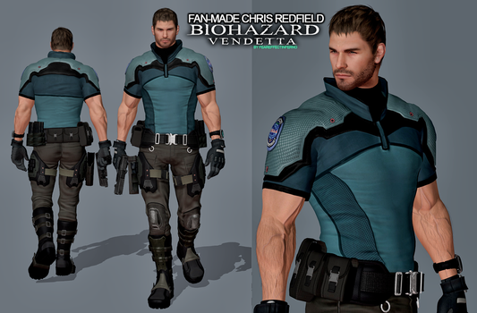 Biohazard Vendetta Chris Redfield (Fan Made) by FearEffectInferno