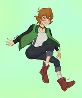 Pidge - Voltron by HeatherHS