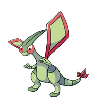 Daily Pokemon 7: Flygon by Fable-Amare