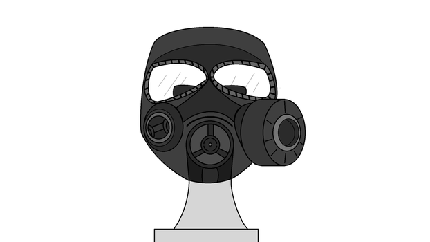 Gas Mask by ThatPigDude01