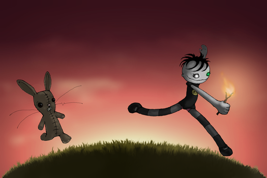 chase me by RaggedyAnarchist